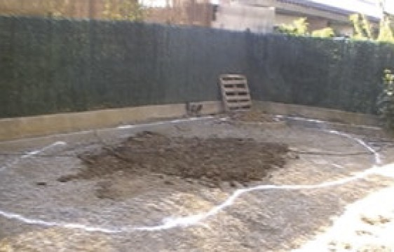 Implantation et terrassement piscine