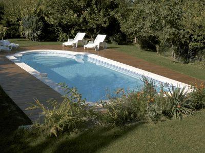 Installateur piscine Romane monocoque