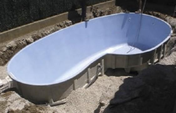 Remblai périphérique piscine en concassé