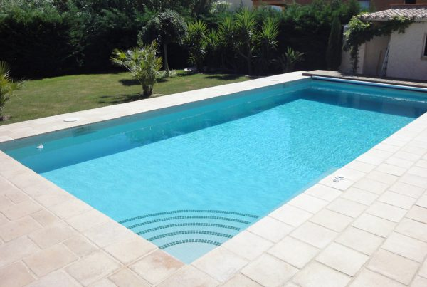 Construction piscine carrelée Perpignan