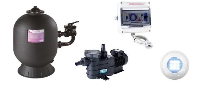 Kit matériel filtration piscine