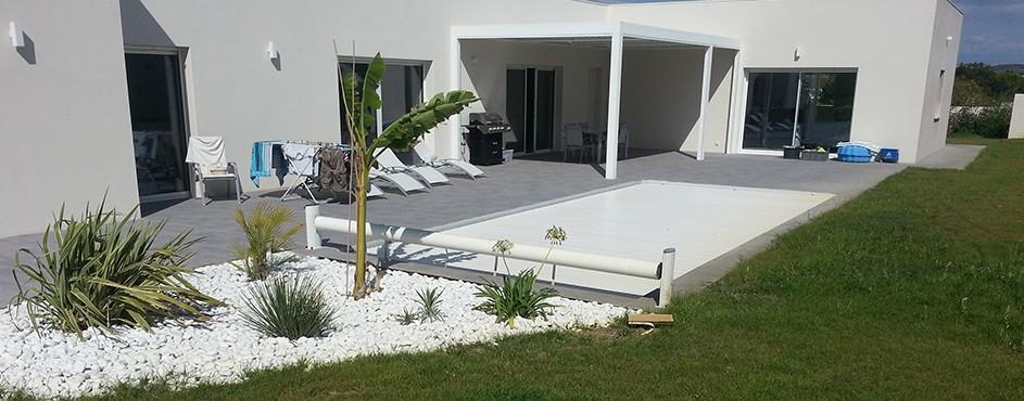 Installateur piscine béton enterrée Sallèles d'Aude